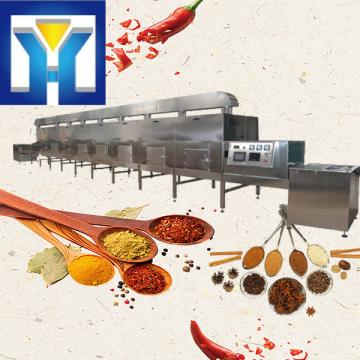 Continuous Tunnel Microwave Drying Equipment For Chili / Spice Powder