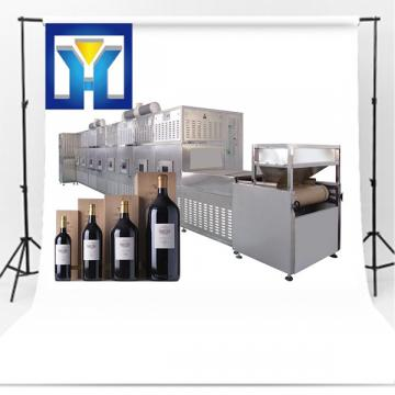 High Effect Microwave Drying Industrial Sterilization Equipment For Drink Wine