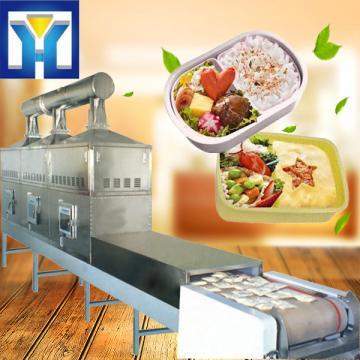 Fast Food Sterilization Equipment Microwave Dryer Bento Sterilizing Heating