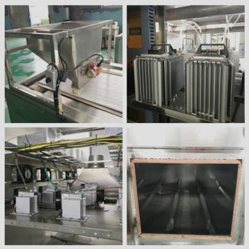 30KW Industrial Tunnel Continuous Microwave Battery Material Drying Oven Machine