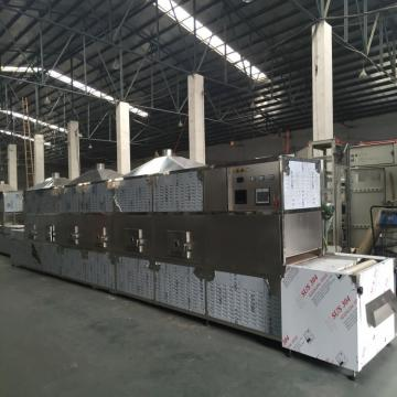 Automatic tunnel industrial gypsum board microwave drying machine