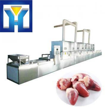 Microwave Vacuum Drying Machine For Chicken Heart