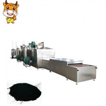 High quality tunnel microwave dryer machine for battery materials