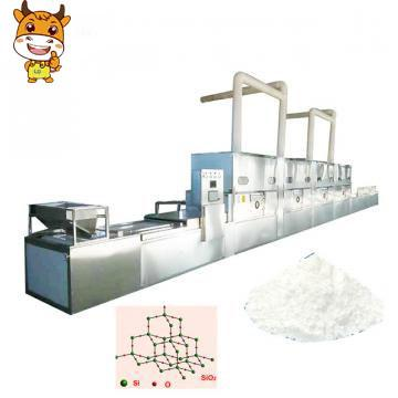 60KW Microwave Silica Powder Drying Machine