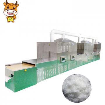 50KW Conveyor Mesh Belt Microwave Dryer Machine PP/PE Fiber Drying Machine